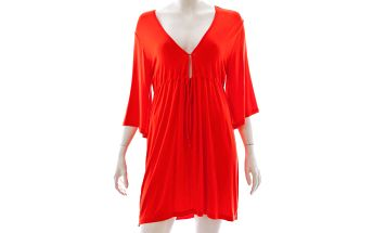 Plážová tunika CHANGE BEACH TUNIC Orange -S