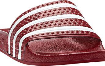 Adidas originals Adilette Lgtsca/WHT, červená, 39,5