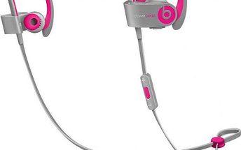 Beats Powerbeats 2 Wireless, růžová/šedá
