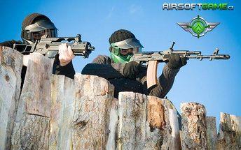 Airsoft – vstup, zbraň a 300 kuliček