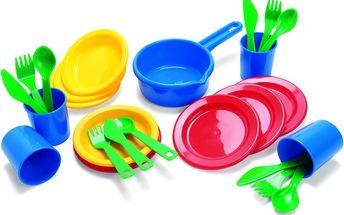 Sada jídelního nádobí, 25 ks