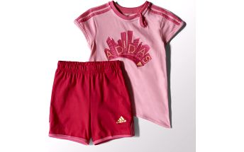 Adidas originals I J G SUM Set Ltpink/SES K, růžová, 92