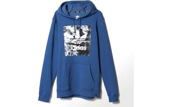 Adidas originals Burned Stamp Hd Ashblu, modrá, S
