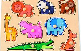 Edukativní Puzzle Džungle zabaví Vaše dítko a možná i Vás