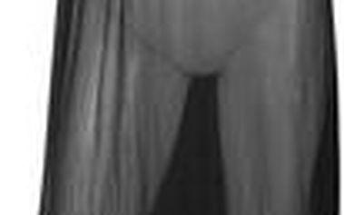 Dlouhé plážové šaty CHANGE Beachwear černé -S/M