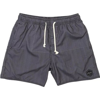 "Rip Curl Cross Court 16"""" Volley Boardshort Black M, šedá, M"