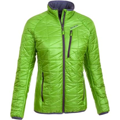 Salewa Pisetta Light PRL W JKT Foliage, zelená, 42