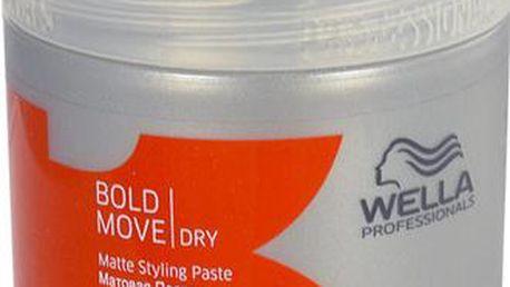 Wella Bold Move Matte Styling Paste 150ml Gel na vlasy W Pro středně silnou fixaci