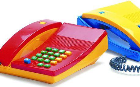 Klasicky dětský telefon ovšem v moderním designu