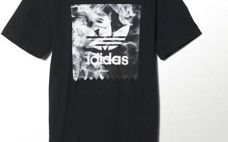 Adidas originals Burned Stamp T Black, černá, XL