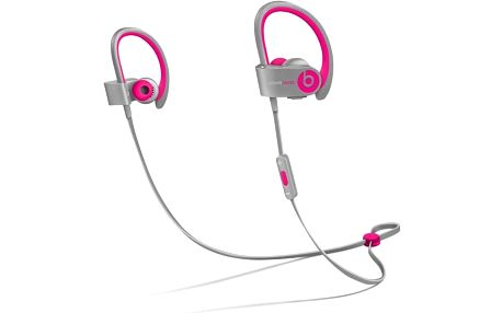Beats Powerbeats 2 Wireless, růžová/šedá