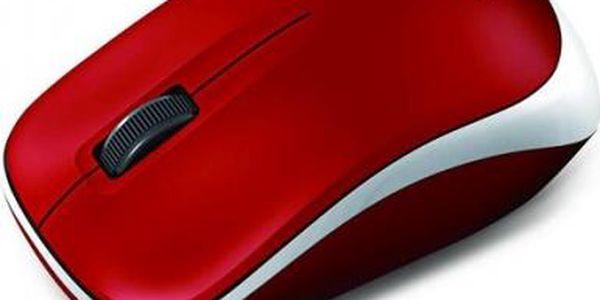 Myš Genius 6000Z (31030031106) bílá/červená