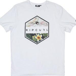 Rip Curl Hexagone Tee Optical White M