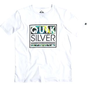 Quiksilver Classic Tee Youth A24 White, bílá, 16