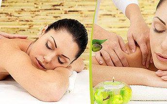 Unikátní léčebná Breussova masáž + třezalkový zábal zad