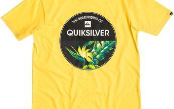 Quiksilver Classic Tee Rise Above Yellow, žlutá, XL