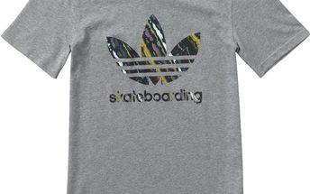 Adidas originals ADV 2.0 Logo Tee M, šedá, S