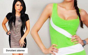 Výprodej dámských letních šatů Oxyd