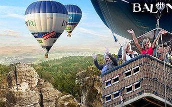 Zážitek v oblacích s horkovzdušným balonem