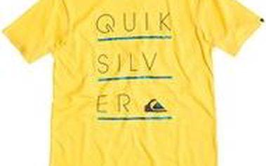 Quiksilver Classic Tee Glasgow Lemon Zest, žlutá, XL
