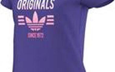 Adidas originals Super Logo Fialové, fialová, 32