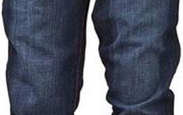 Dívčí džínové kalhoty - tmavě modré