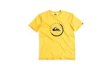 Quiksilver Classic Tee Everyday Active Lemon Zest, žlutá, L