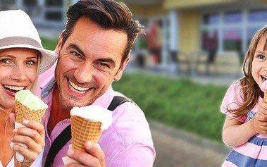 Poukaz na 5 nebo 10 točených zmrzlin