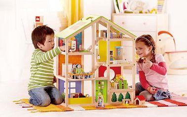 Vybavený domek pro panenky