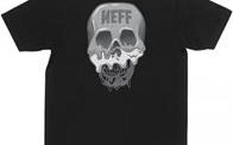 Neff Skull Cream Tee Black M, černá, L