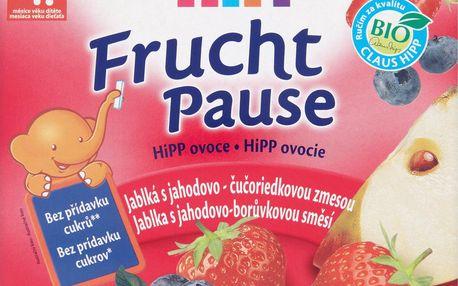 HiPP HiPP Bio Jablka s jahodami 4x100g