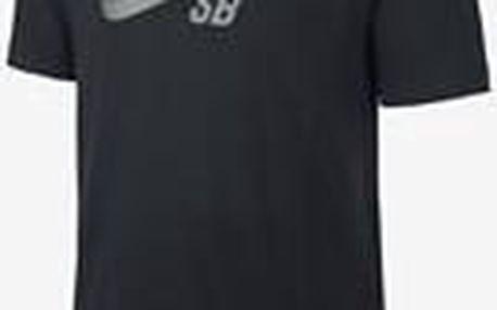 Nike DF SB Icon Reflective Tee - Black, černá, M