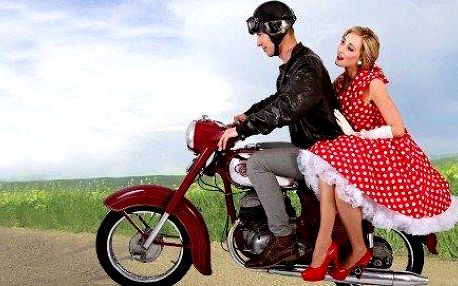 Půjčení historického motocyklu Jawa ČZ nebo Jawa 250