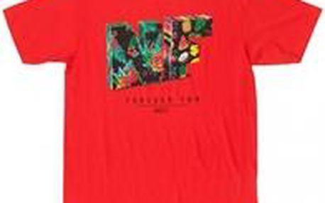 Neff Fold Tee Red M, červená, L