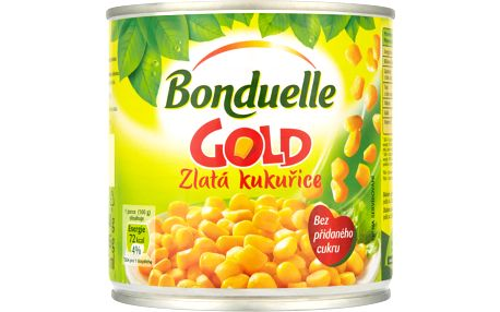 Bonduelle Bonduelle Gold Zlatá kukuřice 340g