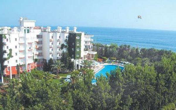 Green Peace Hotel, Turecká riviéra - Alanya - Mahmutlar, Turecko, letecky, all inclusive