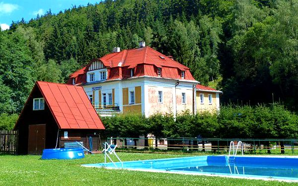 6denní relaxační pobyt v penzionu Pod Lanovkou v Krušných horách pro 2 osoby