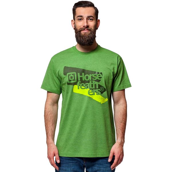 Horsefeathers Comet T-Shirt Heather Green