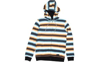 Rip Curl Essential Stripes HZ Fleece Optical White M, bílá, M