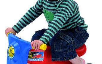 Závodní motorka - vhodná od dvou let