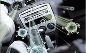 Vyčištěná klima v autě