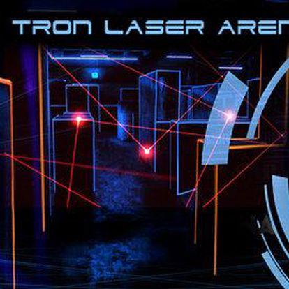 Laser Game v nejmodernější Laser Aréně v ČR na 2 hry po 15 minutách