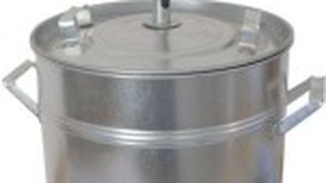Hrnec zavařovací zinkový (30l) + pouzdro na teploměr