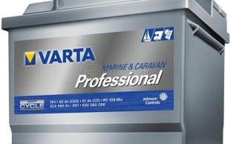 Trakční baterie VARTA Professional Dual Purpose (Deep cycle) 60Ah, 12V, LFD60