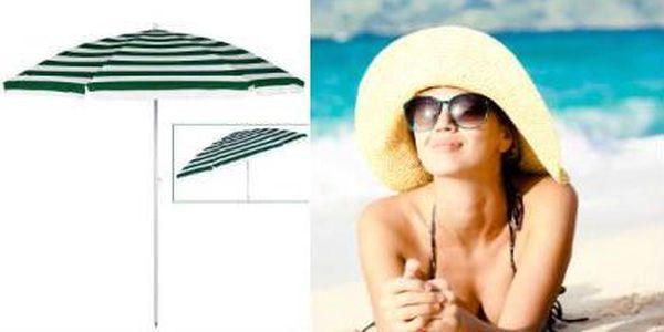 Pruhovaný naklápěcí slunečník + taška ZDARMA na uskladnění!