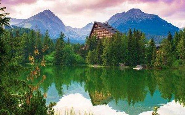 Tři dny ve Vysokých Tatrách pro dva se snídaní i saunou