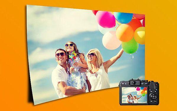 Maxi foto 60x40 nebo 90x60 cm vytištěné na tvrdém papíře s dlouhou životností barev