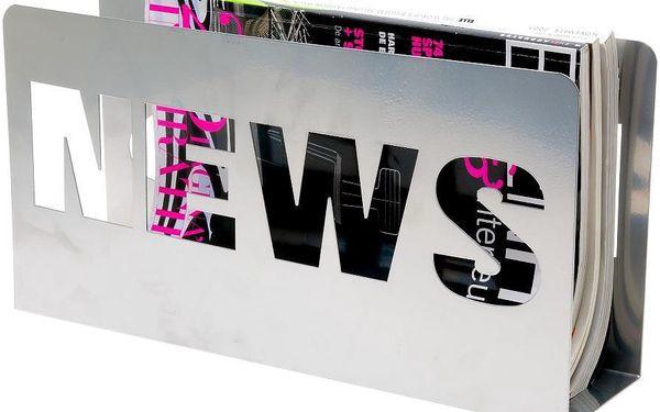 Stojan na časopisy News Metal