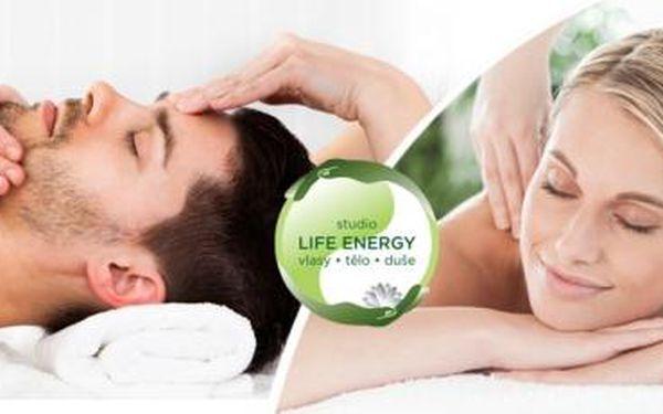 60min. RELAXAČNÍ BALÍČEK - masáž zad, krku a šíje + ošetření svalů a páteře! Navíc masáž hlavy nebo zábal!