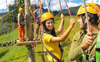 Až 8denní relax v horské chatě Sobík na Dolní Moravě pro 2 osoby